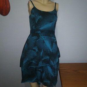 Roxy Blue & Black Dress